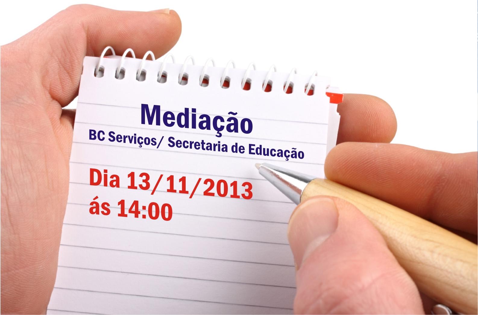 Informativo Jurídico: Mediação BC Serviços/ Secretaria de Educação