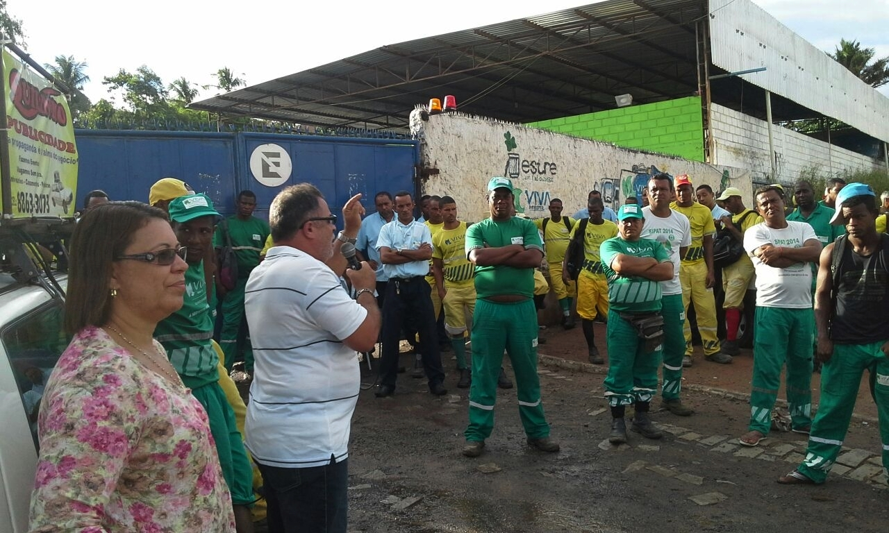 Trabalhadores da Viva Ambiental mostram crescimento da Campanha Salarial 2015