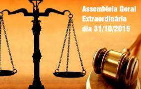 Convocatória: Assembleia Geral Extraordinária