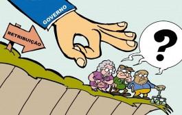 Querem roubar nosso direito a uma aposentadoria digna!