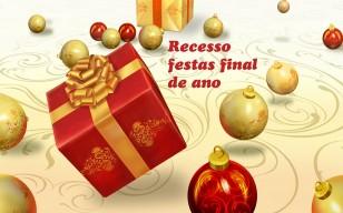 COMUNICADO: Recesso festas final de ano