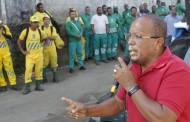 Sindilimp e vereador Luiz Carlos Suíca exigem segurança para trabalhadores em limpeza urbana