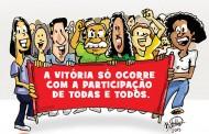 Campanha Salarial em andamento e será vitoriosa com sua participação